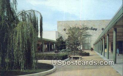 North Mall, Mayfair Shopping Center - Wauwatosa, Wisconsin WI Postcard