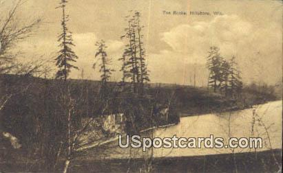 The Rocks - Hillsboro, Wisconsin WI Postcard