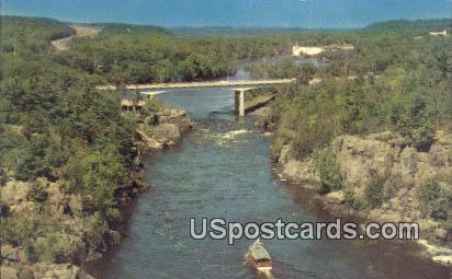 Interstate State Park - St. Croix Falls, Wisconsin WI Postcard