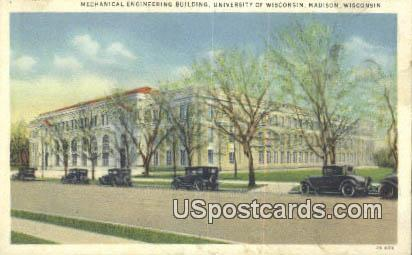 Mechanical Engineering Building, U of Wisconsin - Madison Postcard