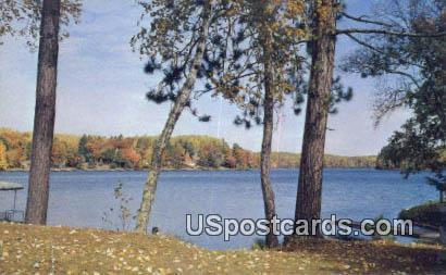 Shishebogama Lake, Wis Postcard      ;      Shishebogama Lake, Wisconsin