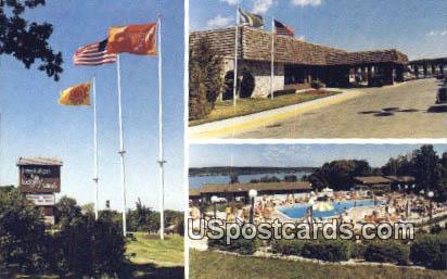 Interlaken Lodge Villas - Lake Geneva, Wisconsin WI Postcard