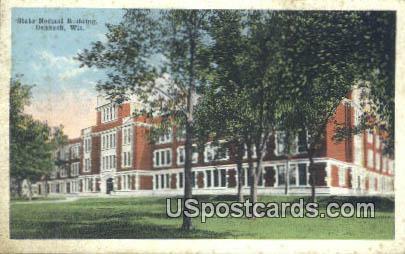 State Normal Building - Oshkosh, Wisconsin WI Postcard