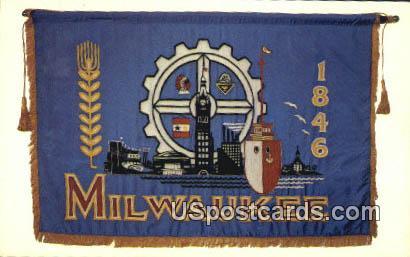 Milwaukee, WI Postcard      ;      Milwaukee, Wisconsin