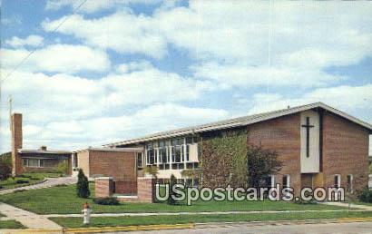 Middleton Community Church - Wisconsin WI Postcard