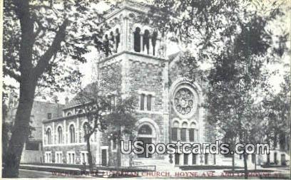 Wicker Park Lutheran Church - MIlwaukee, Wisconsin WI Postcard