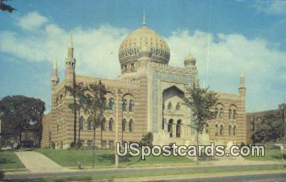 Tripoli Temple, Shrine Mosque - MIlwaukee, Wisconsin WI Postcard