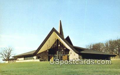 First Evangelical Lutheran Church - Lake Geneva, Wisconsin WI Postcard