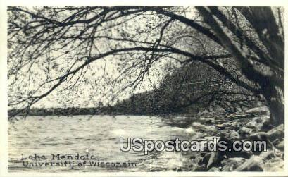 University of Wisconsin - Lake Mendota Postcard