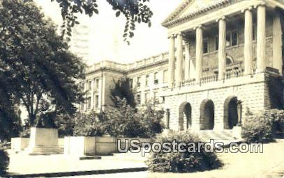real photo - Madison, Wisconsin WI Postcard
