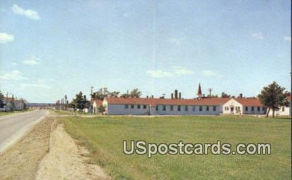 Camp McCoy - Sparta, Wisconsin WI Postcard