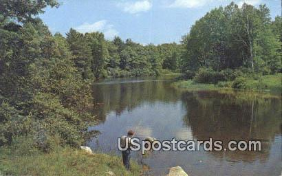 The Hermitage - Iron River, Wisconsin WI Postcard