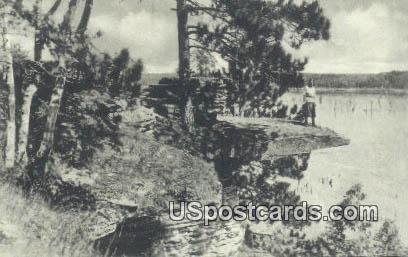 Visor Ledge - Killbourn, Wisconsin WI Postcard