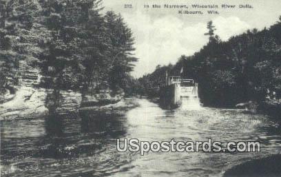 Narrows, Wisconsin River Dells - Killbourn Postcard