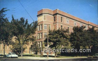 Columbia Hospital - MIlwaukee, Wisconsin WI Postcard