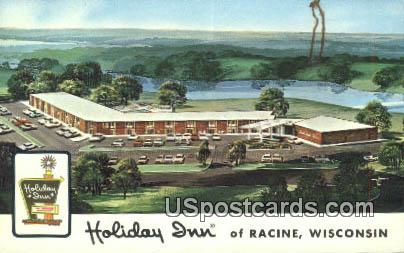 Holiday Inn - Racine, Wisconsin WI Postcard