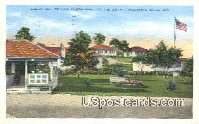 Spring Hill De Luxe Bungalows - Wisconsin Dells Postcards, Wisconsin WI Postcard
