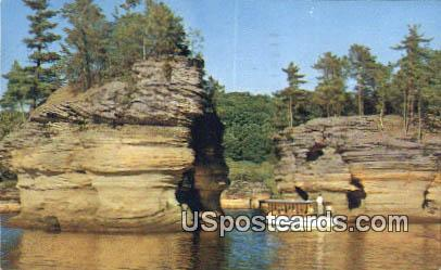 Sugar Bowl - Wisconsin Dells Postcards, Wisconsin WI Postcard