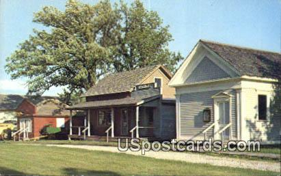 Galloway House Museum - Fond du Lac, Wisconsin WI Postcard