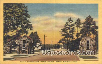 Marathon Park - Wausau, Wisconsin WI Postcard