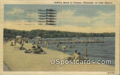 Lake Geneva - Fontana, Wisconsin WI Postcard