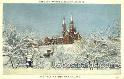 Holy Hill, WI Postcard      ;      Holy Hill, Wisconsin