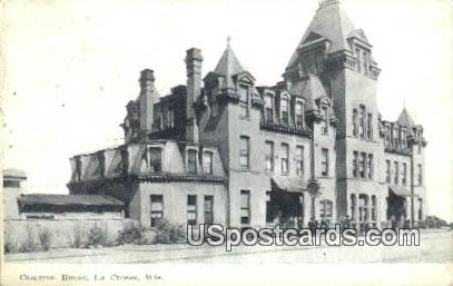 Cameron House - La Crosse, Wisconsin WI Postcard