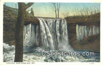 Cascades - Green Bay, Wisconsin WI Postcard