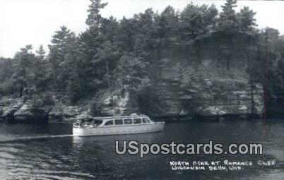 North Star, Romance Chief - Wisconsin Dells Postcards, Wisconsin WI Postcard