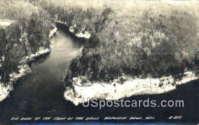 real photo - Jaws of the Dells - Wisconsin Dells Postcards, Wisconsin WI Postcard