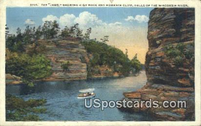 The Jaws - Wisconsin River Postcards, Wisconsin WI Postcard
