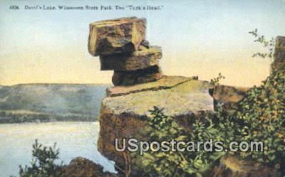 Devil's Lake - Wisconsin State Park Postcards, Wisconsin WI Postcard