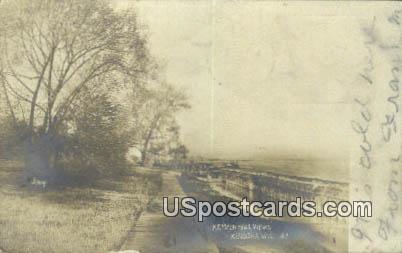 Real Photo - Kemper Hall Views - Kenosha, Wisconsin WI Postcard