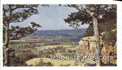 Gibraltar Overlook - Lodi, Wisconsin WI Postcard