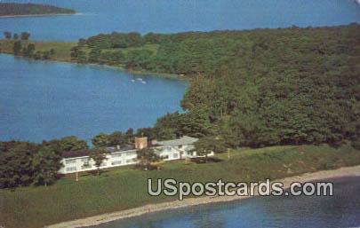 Holy Name Retreat House, Chambers Island - Door County, Wisconsin WI Postcard