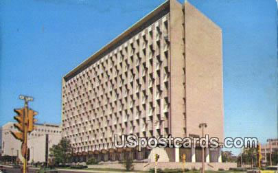 Wisconsin State Office Building - MIlwaukee Postcard