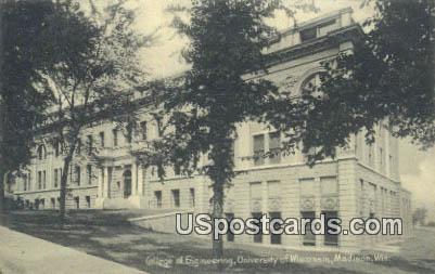 College of Engineering, University of Wisconsin - Madison Postcard