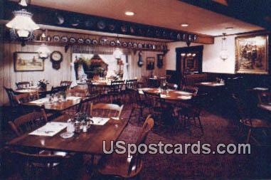 Millies Pancake Haus - Delavan, Wisconsin WI Postcard