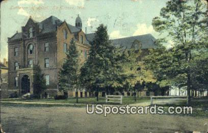 Lutheran Hospital - La Crosse, Wisconsin WI Postcard