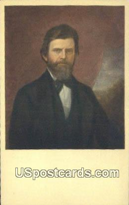 Nelson Dewey, First Governor - Misc, Wisconsin WI Postcard