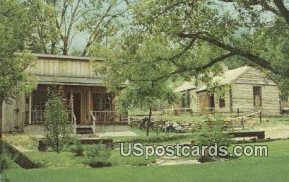 Log Cabin, Cabinet Shop - Mineral Point, Wisconsin WI Postcard