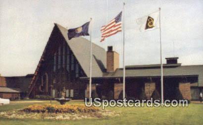 Abbey of Lake Geneva - Fontana, Wisconsin WI Postcard