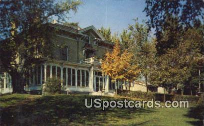 Historical Villa Louis - Prairie Du Chien, Wisconsin WI Postcard