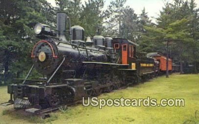 Rhinelander Logging Museum - Wisconsin WI Postcard