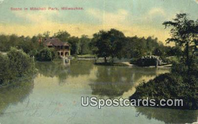 Mitchell Park - MIlwaukee, Wisconsin WI Postcard