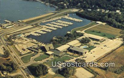The Abbey - Lake Geneva, Wisconsin WI Postcard