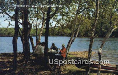Whitewater, Wisconsin Postcard      ;      Whitewater, WI