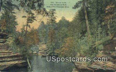 Lovers Lane - Dells Of The Wisconsin River Postcards, Wisconsin WI Postcard