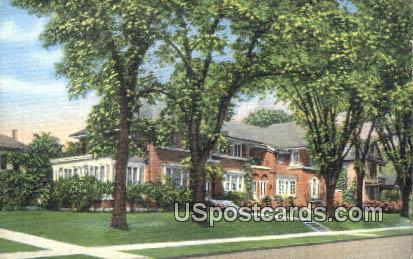 Zona Gale Breese Home - Portage, Wisconsin WI Postcard