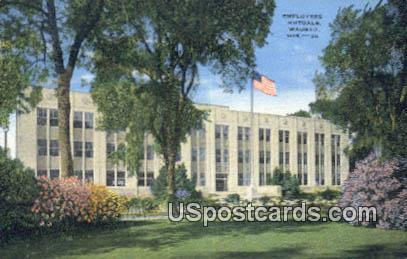 Employers Muturals - Wausau, Wisconsin WI Postcard